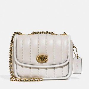 Coach Madison Shoulder Bag 16 With Quilting